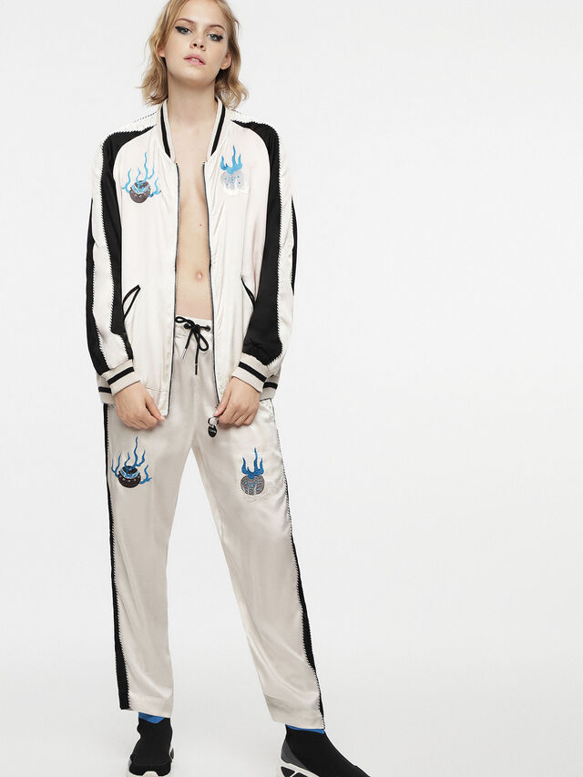 Diesel - G-FRANK-A, Off White - Jackets - Image 4