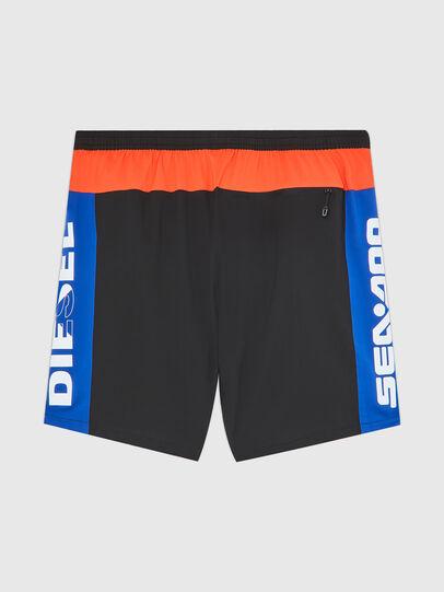 Diesel - BMBX-TUNADOO, Black/Blue - Swim shorts - Image 2