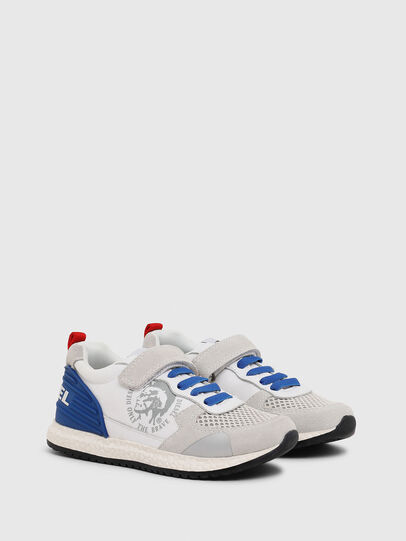 Diesel - SN RUNNER 01 LC CH, White/Blue - Footwear - Image 2