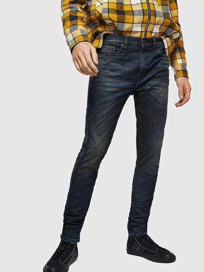 Diesel - D-Reeft JoggJeans 0870Y, Dark Blue - Jeans - Image 1