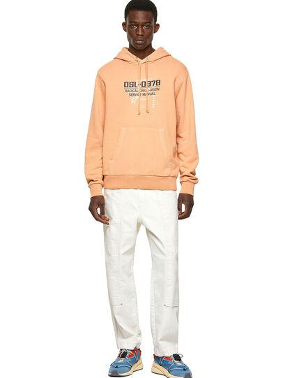 Diesel - S-GIRK-HOOD-B3, Orange - Sweaters - Image 4