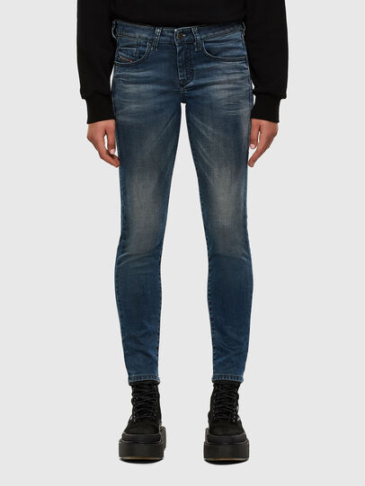 Diesel - D-Ollies JoggJeans® 069NM, Medium blue - Jeans - Image 1