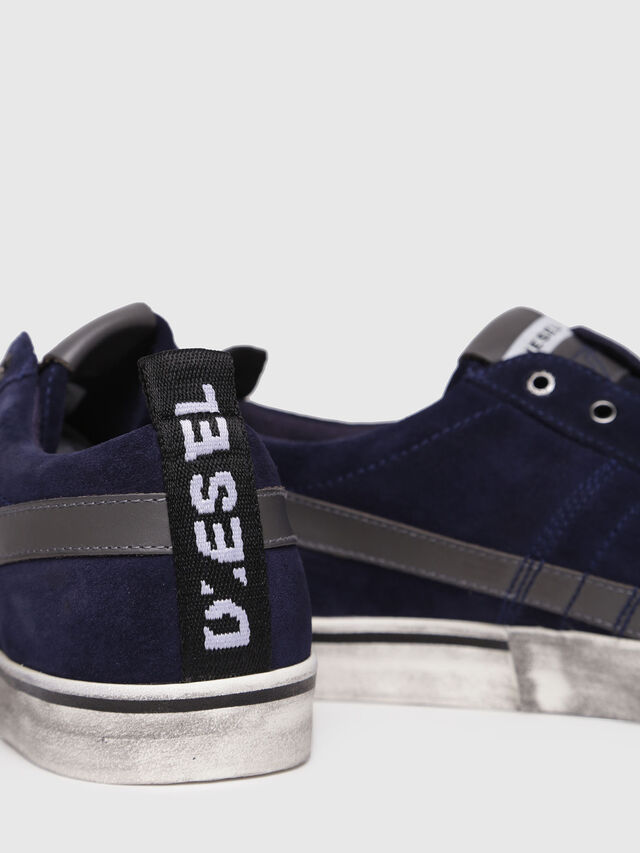 Diesel - D-VELOWS LOW LACE, Dark Blue - Sneakers - Image 4