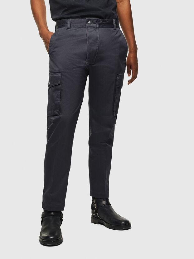 P-JARED-CARGO, Dark grey - Pants