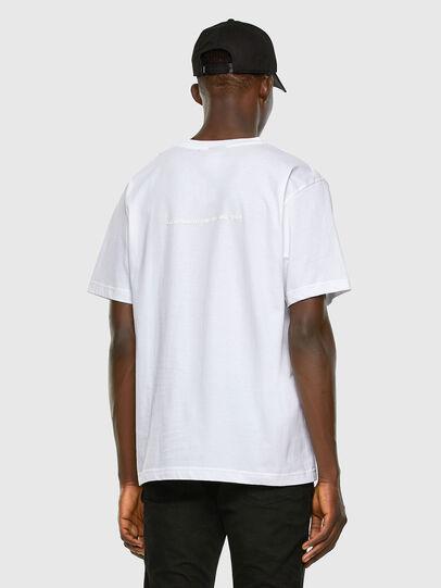 Diesel - T-TUBOLAR-X20, White - T-Shirts - Image 6