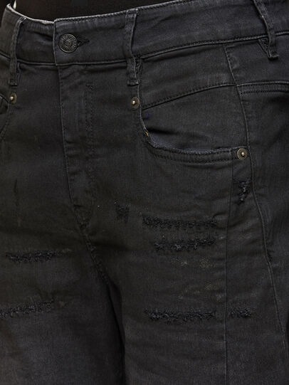 Diesel - FAYZA JoggJeans® 069QL, Black/Dark grey - Jeans - Image 3