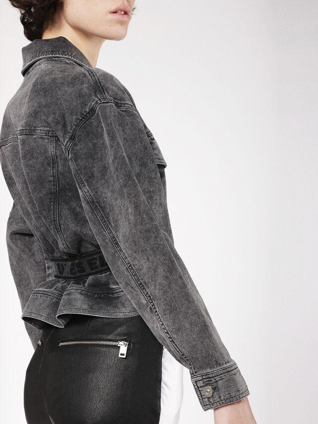 Diesel - KARLY JOGGJEANS, Black/Dark grey - Denim Jackets - Image 4