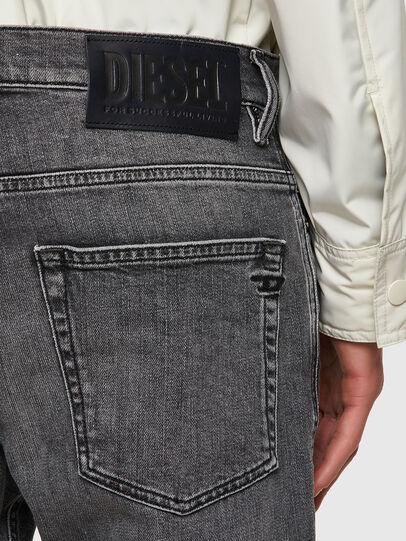 Diesel - D-Fining 09A11, Black/Dark grey - Jeans - Image 3