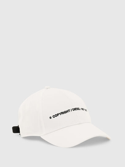 Diesel - COMIXI, White - Caps, Hats and Gloves - Image 1