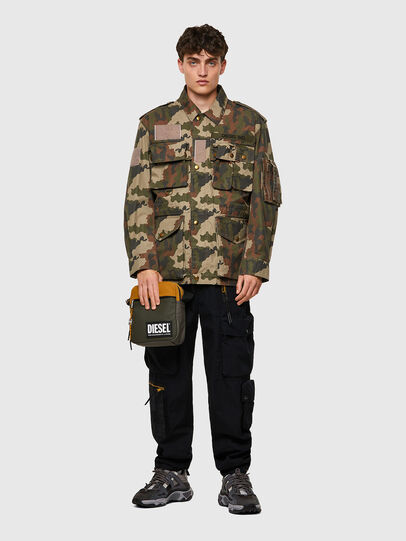 Diesel - VERTYO, Military Green - Crossbody Bags - Image 6