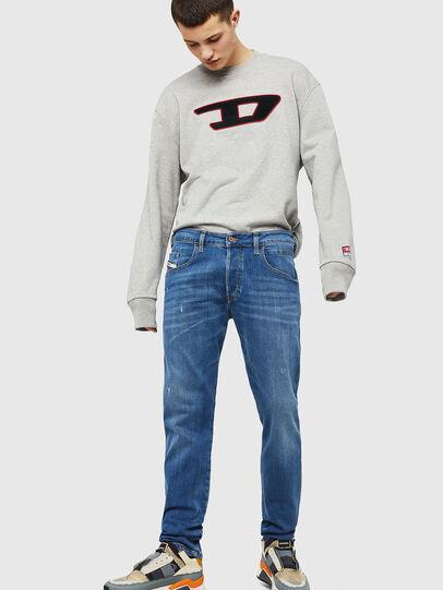 Diesel - D-Bazer 083AX, Light Blue - Jeans - Image 4