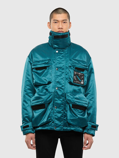 Diesel - J-HARRETT, Water Green - Jackets - Image 1