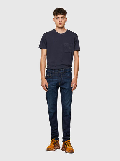 Diesel - D-Strukt 09A48, Dark Blue - Jeans - Image 5