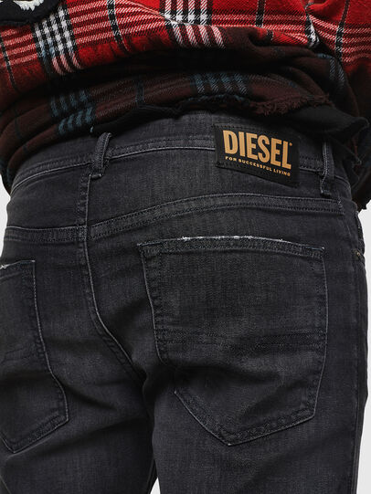 Diesel - Buster 082AS, Black/Dark grey - Jeans - Image 4