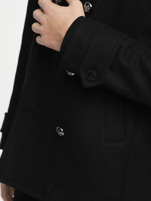 Diesel - W-BANFI, Black - Winter Jackets - Image 4
