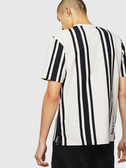 Diesel - T-STRIP-J1, White/Black - T-Shirts - Image 2