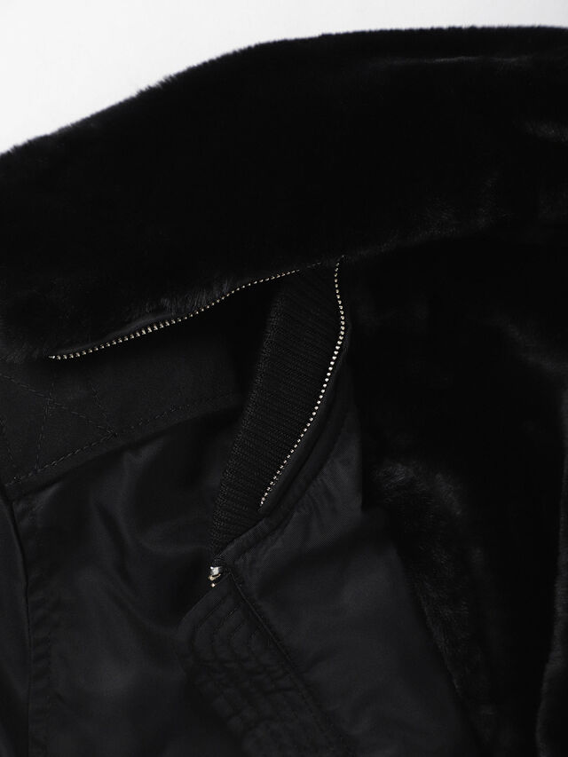 Diesel - W-SLOTKIN, Black - Winter Jackets - Image 7