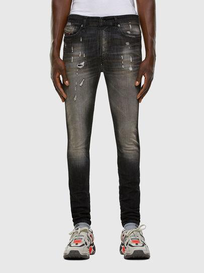 Diesel - D-REEFT JoggJeans® 009FX, Black/Dark grey - Jeans - Image 1