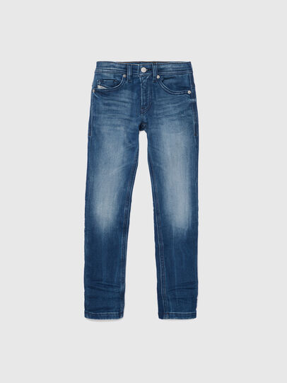 Diesel - THOMMER-J JOGGJEANS, Medium blue - Jeans - Image 1