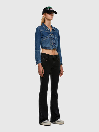Diesel - D-Ebbey 0870G, Black/Dark grey - Jeans - Image 5