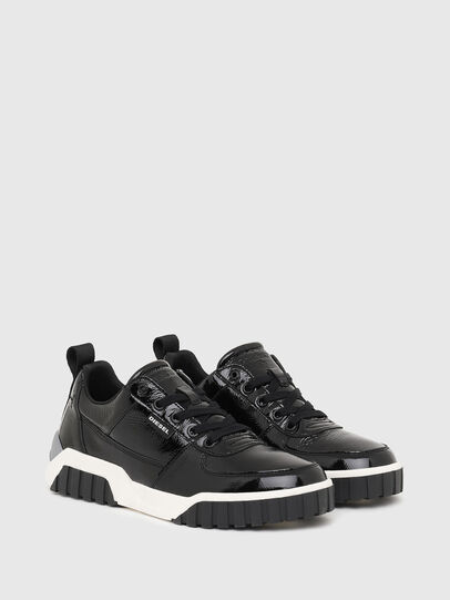 Diesel - S-RUA LOW W, Black - Sneakers - Image 2