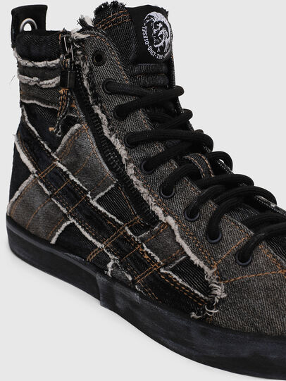 Diesel - D-VELOWS MID LACE, Grey Jeans - Sneakers - Image 4