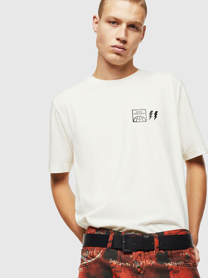 Diesel - T-JUST-VINT, White - T-Shirts - Image 4