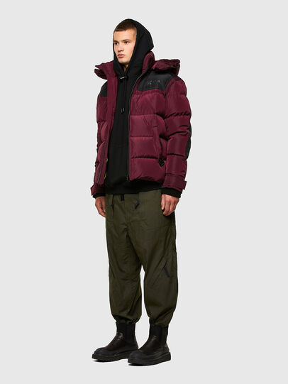 Diesel - W-RUSSELL, Violet - Winter Jackets - Image 6