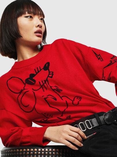 Diesel - CL-M-TESS, Red - Knitwear - Image 3