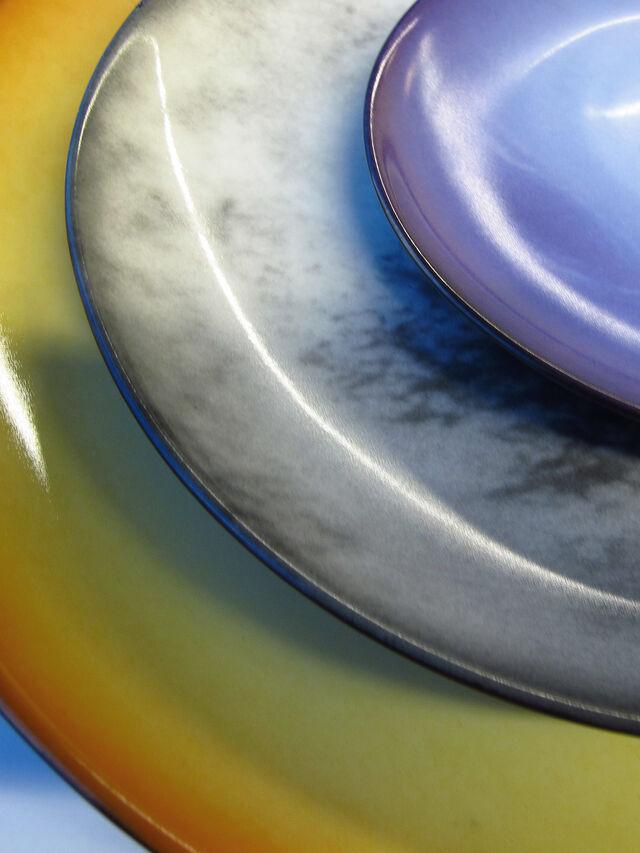 Living 10822 COSMIC DINER, Blue - Plates - Image 2