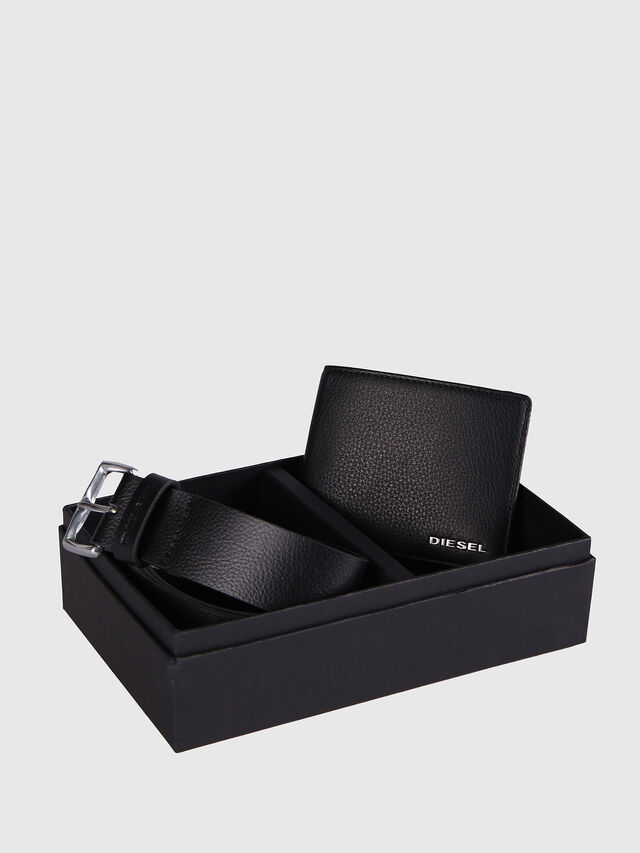 Diesel - STERLING BOX I, Black Leather - Bijoux and Gadgets - Image 1