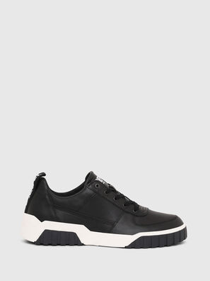 S-RUA LOW, Black - Sneakers