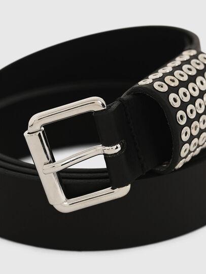 Diesel - B-OPPEANO, Black - Belts - Image 2