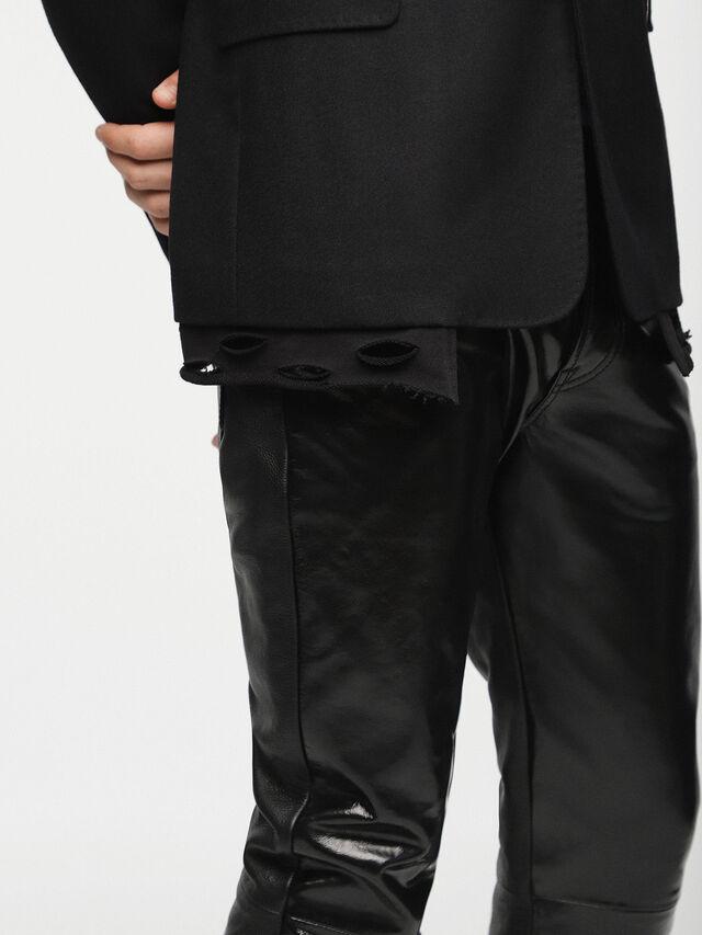 Diesel - J-TROUBLE, Black - Jackets - Image 3