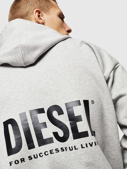 Diesel - LR-S-GIRK-HOOD-VIC, Grey - Sweaters - Image 5