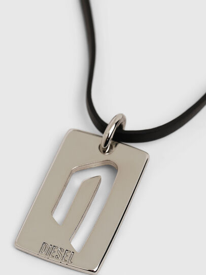 Diesel - N-DIVISION, Silver/Black - Bijoux and Gadgets - Image 3