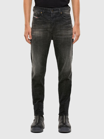 Diesel - D-Vider 009JW, Black/Dark grey - Jeans - Image 1