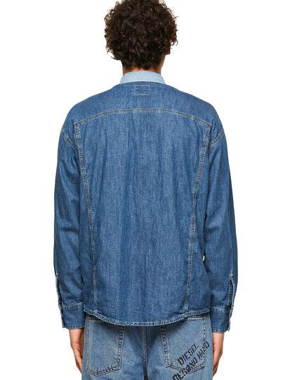 Diesel - DxD-SHIRT, Medium blue - Denim Shirts - Image 2