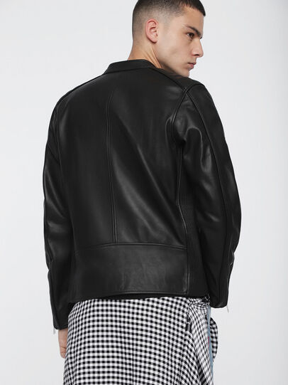 Diesel - L-QUAD,  - Leather jackets - Image 2