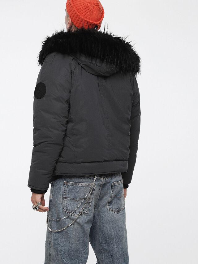 Diesel - W-CODY, Black - Winter Jackets - Image 2