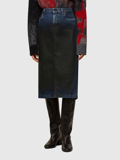 Diesel - ODIANNE, Dark Blue - Skirts - Image 1