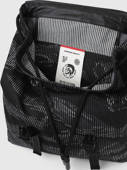 Diesel - VOLPAGO BACK, Black - Backpacks - Image 7
