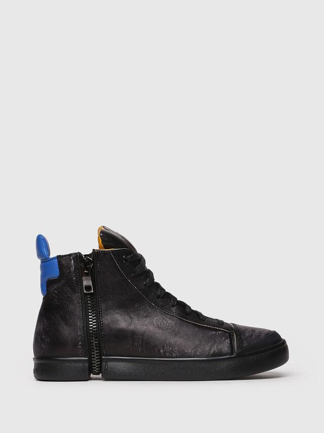 Diesel - S-NENTISH, Black/Blue - Sneakers - Image 1
