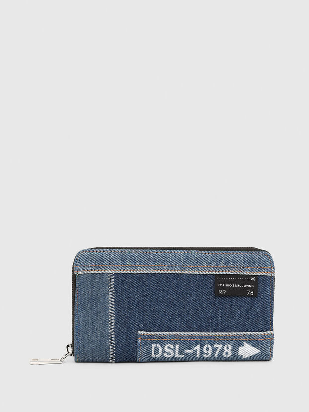 GRANATO LC, Blue Jeans - Zip-Round Wallets