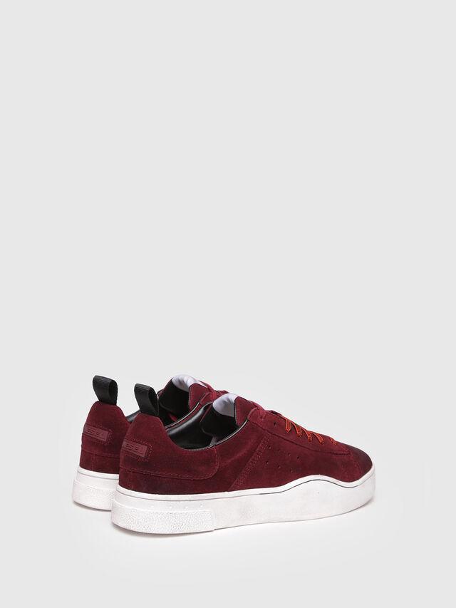 Diesel - S-CLEVER LOW, Red Wine - Sneakers - Image 3