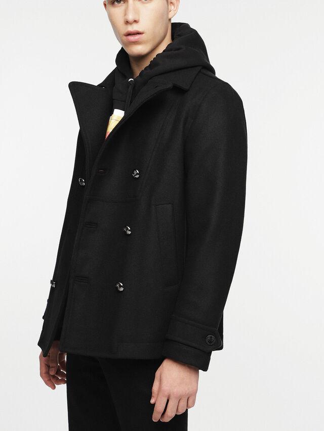 Diesel - W-BANFI, Black - Winter Jackets - Image 5