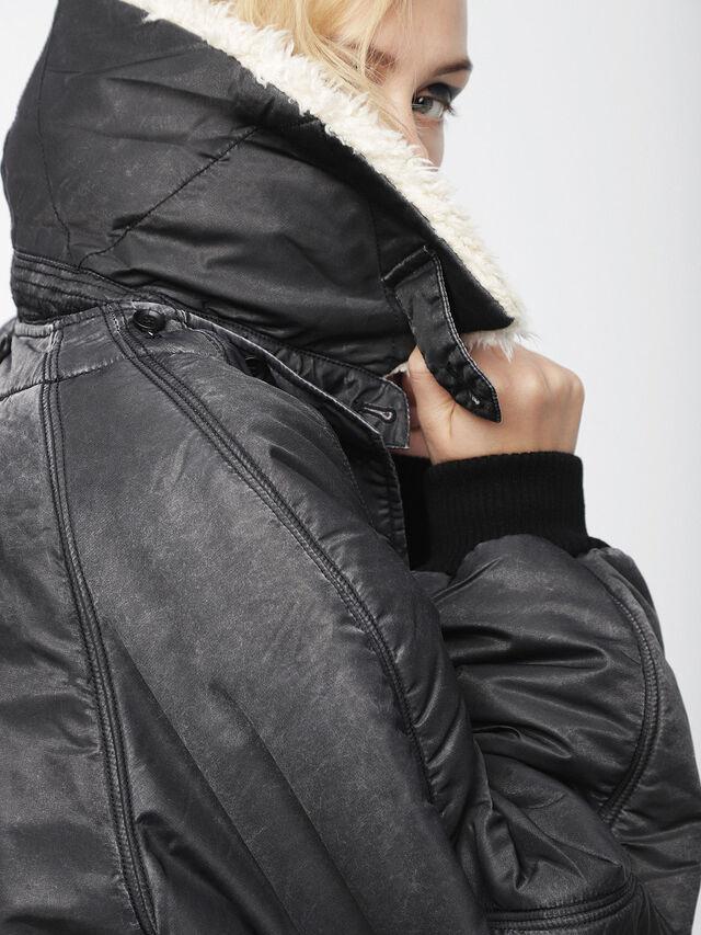 Diesel - W-GIADA, Dark grey - Winter Jackets - Image 4