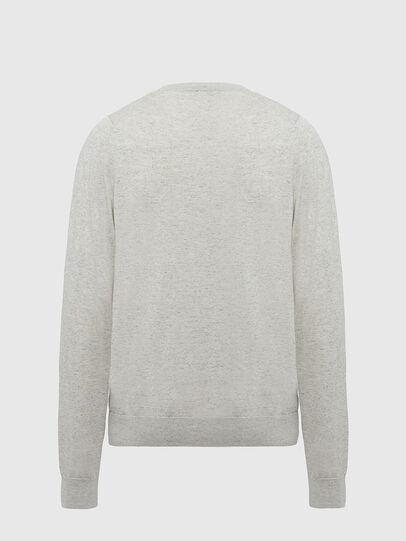 Diesel - K-CROFT-TOMI, Light Grey - Knitwear - Image 2