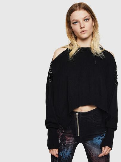Diesel - M-NETTY, Black - Knitwear - Image 1