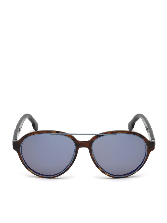Diesel - DL0214, Brown - Eyewear - Image 1